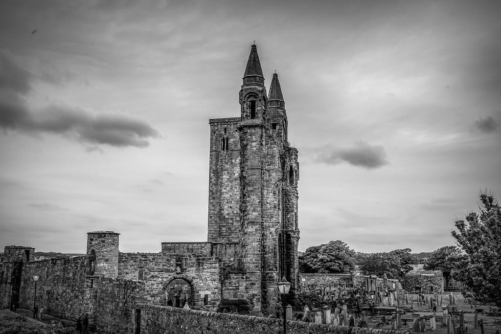 苏格兰圣安德鲁主教座堂(Cathedral of St Andrew)遗迹,历史回顾 ..._图1-33