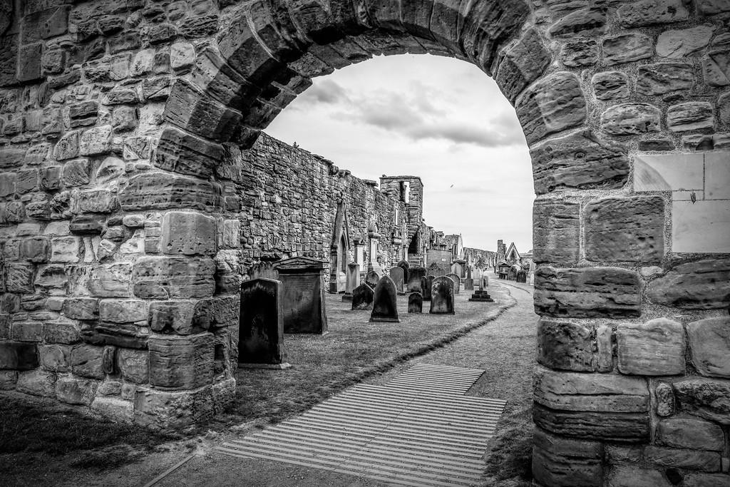 苏格兰圣安德鲁主教座堂(Cathedral of St Andrew)遗迹,历史回顾 ..._图1-36