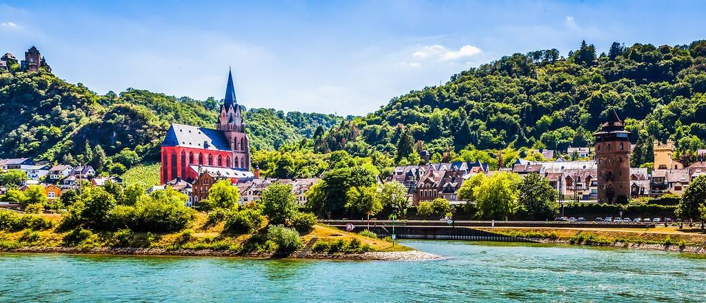 畅游莱茵河,迷人景色_图1-12