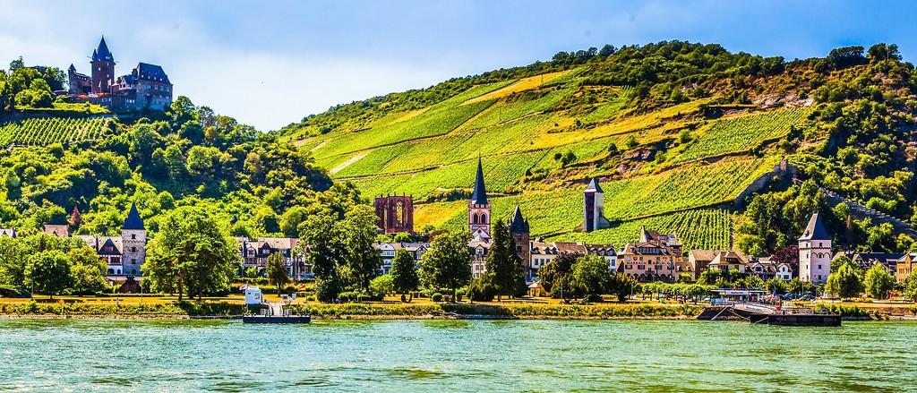 畅游莱茵河,迷人景色_图1-19