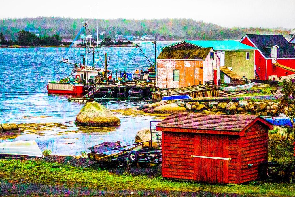 加拿大路途,走过小渔村_图1-36