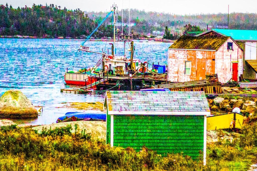 加拿大路途,走过小渔村_图1-23