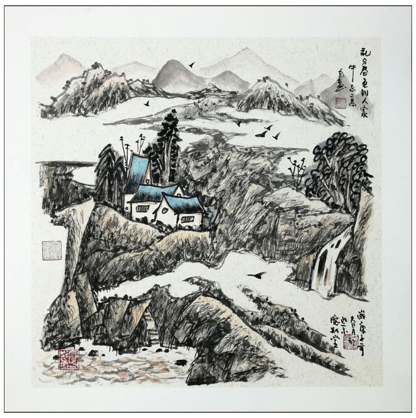 牛志高2020山水画新作-----2020.07.05_图1-6