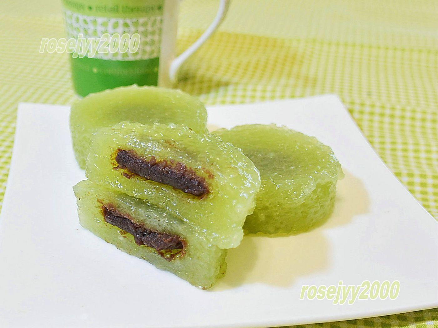抹茶水晶豆沙盏_图1-1