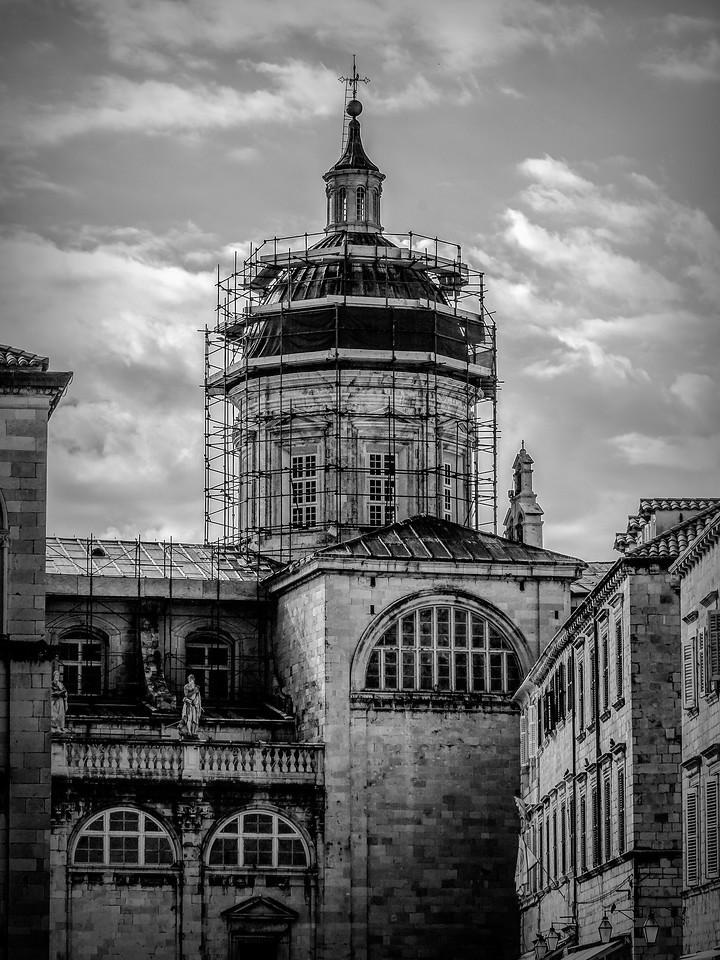 克罗地亚杜布罗夫尼克(Dubrovnik),看古建筑_图1-12