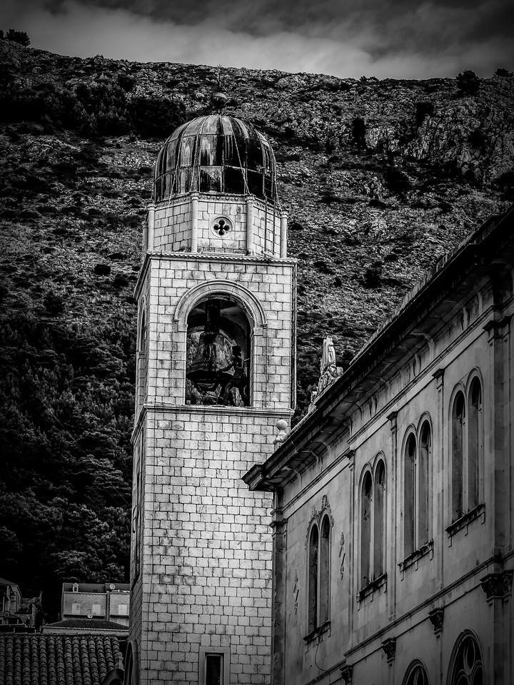 克罗地亚杜布罗夫尼克(Dubrovnik),看古建筑_图1-2