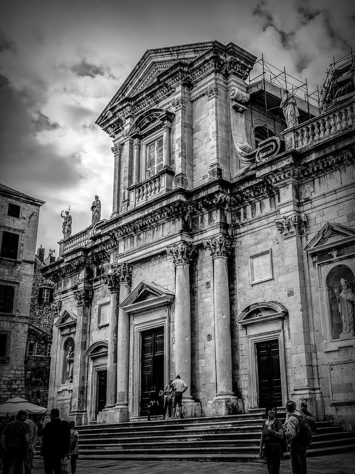 克罗地亚杜布罗夫尼克(Dubrovnik),看古建筑_图1-6