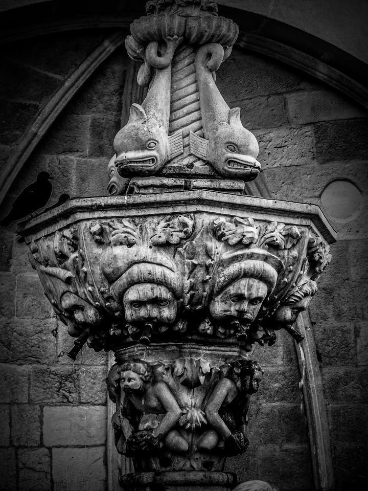 克罗地亚杜布罗夫尼克(Dubrovnik),看古建筑_图1-18