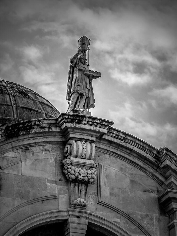 克罗地亚杜布罗夫尼克(Dubrovnik),看古建筑_图1-19