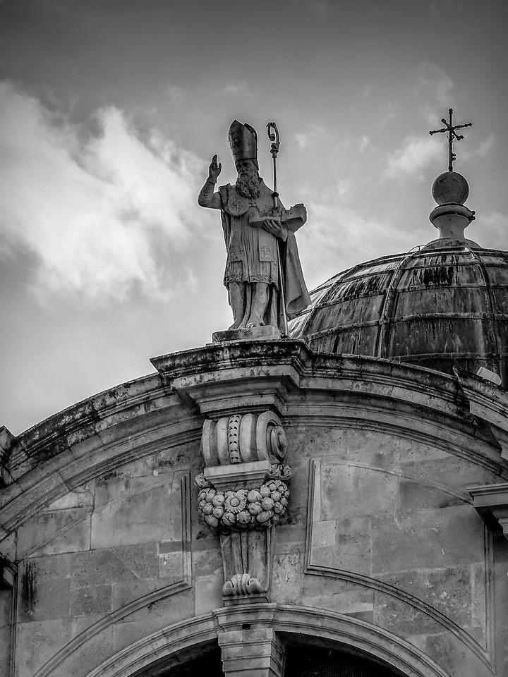 克罗地亚杜布罗夫尼克(Dubrovnik),看古建筑_图1-24