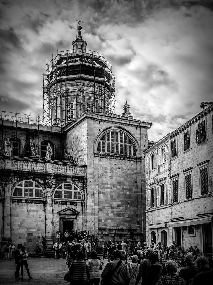 克罗地亚杜布罗夫尼克(Dubrovnik),看古建筑_图1-22