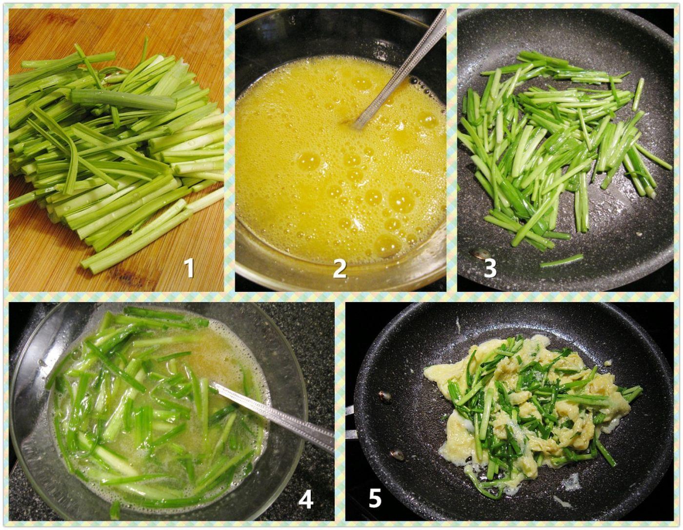 蒜苗炒蛋_图1-2