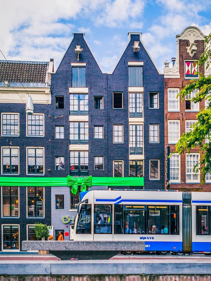 荷兰阿姆斯特丹,街头建筑_图1-24