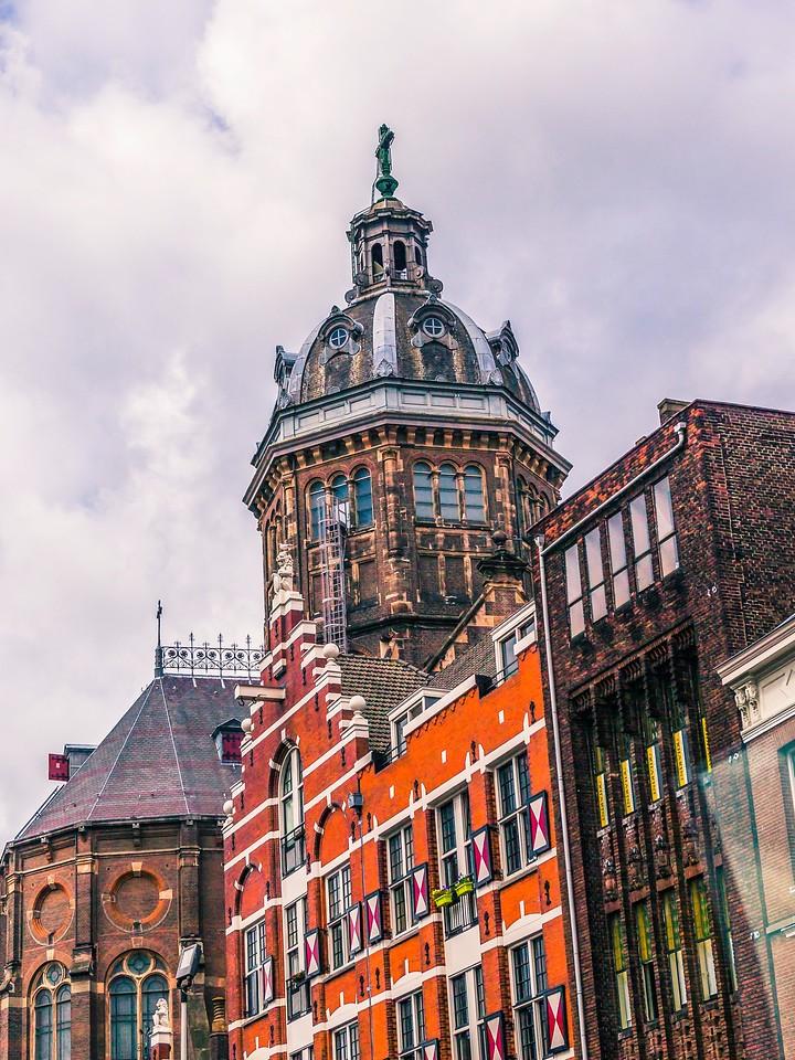 荷兰阿姆斯特丹,街头建筑_图1-21