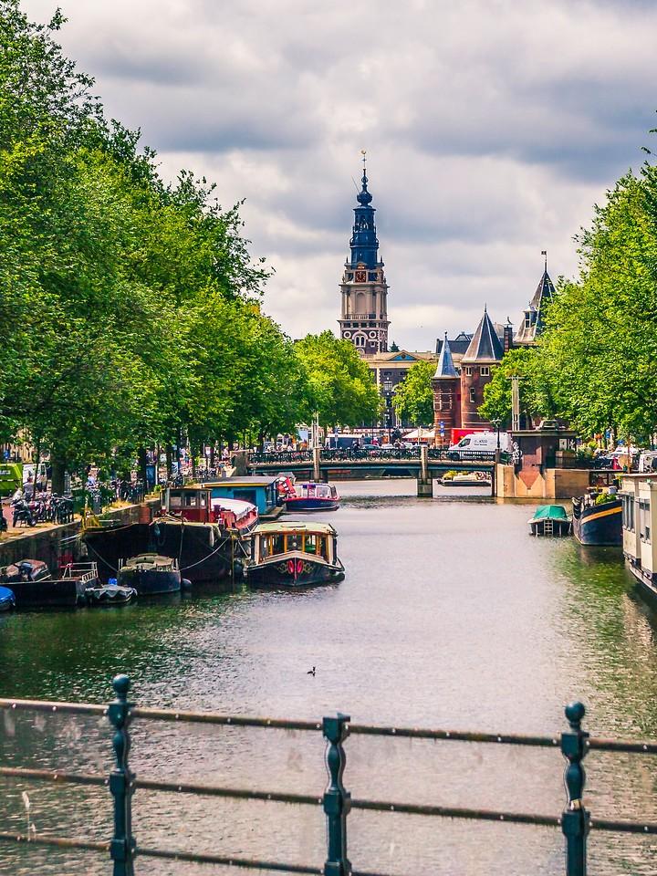 荷兰阿姆斯特丹,街头建筑_图1-22