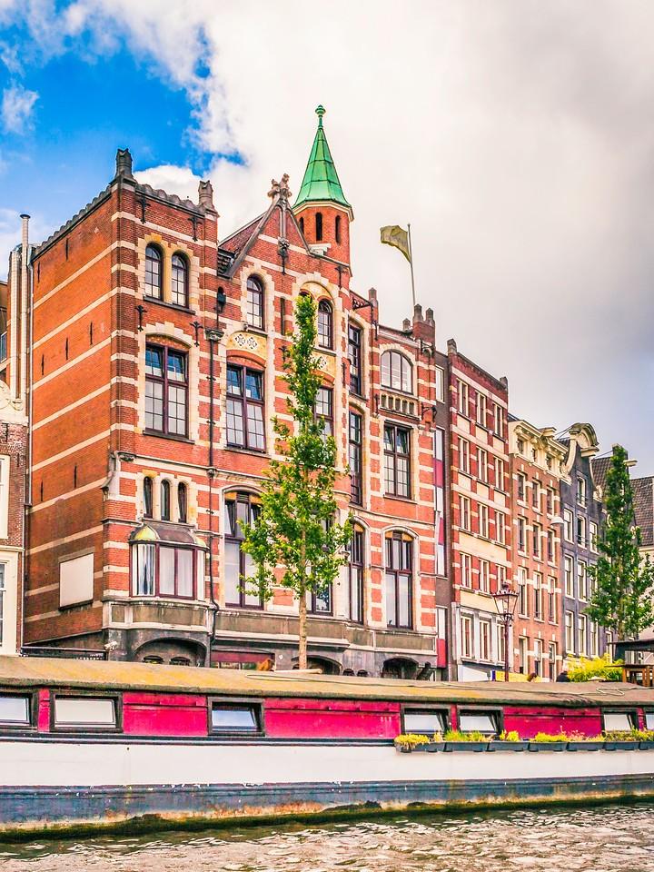荷兰阿姆斯特丹,街头建筑_图1-15