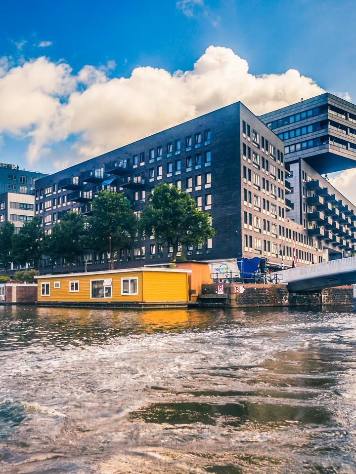 荷兰阿姆斯特丹,街头建筑_图1-11