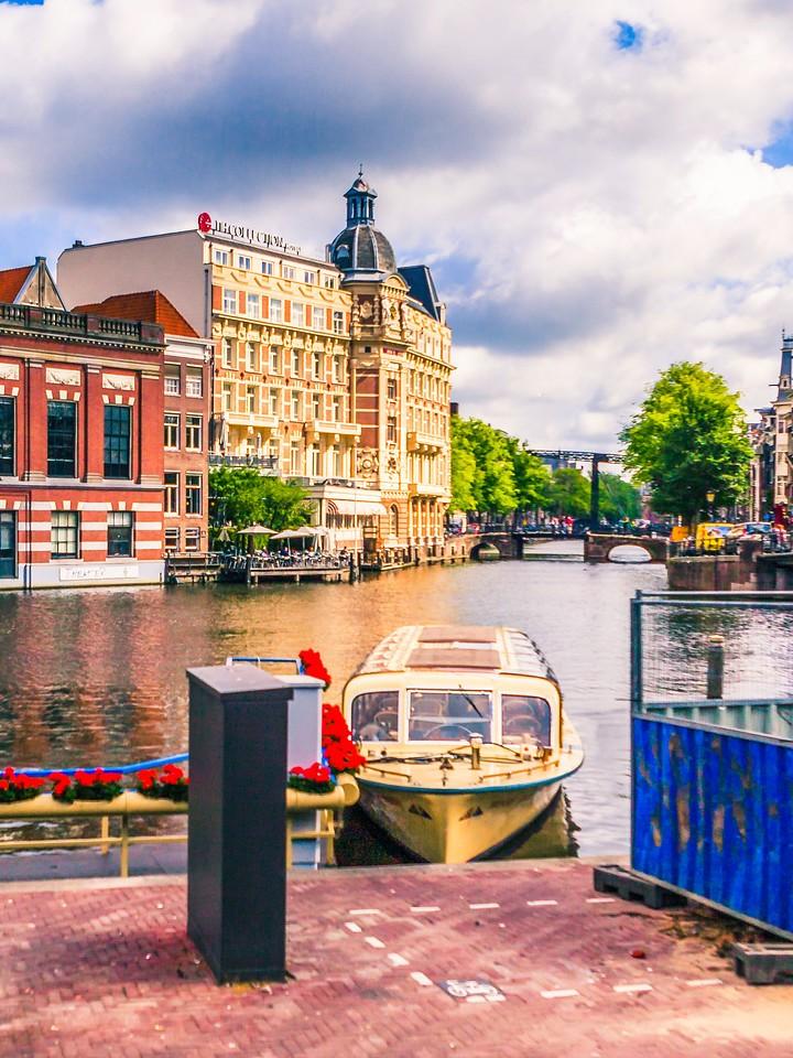 荷兰阿姆斯特丹,街头建筑_图1-10