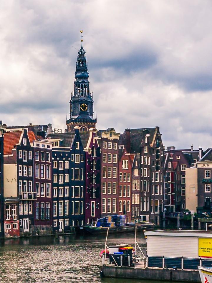 荷兰阿姆斯特丹,街头建筑_图1-8