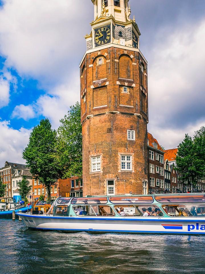 荷兰阿姆斯特丹,街头建筑_图1-4