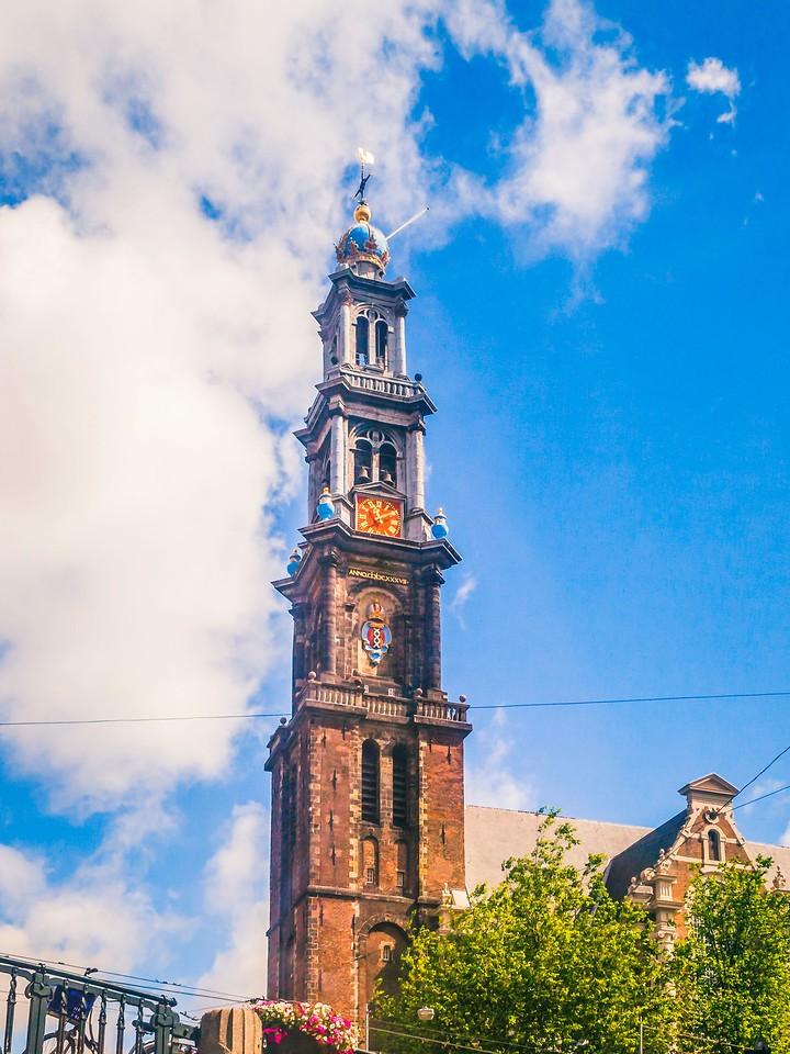 荷兰阿姆斯特丹,街头建筑_图1-6