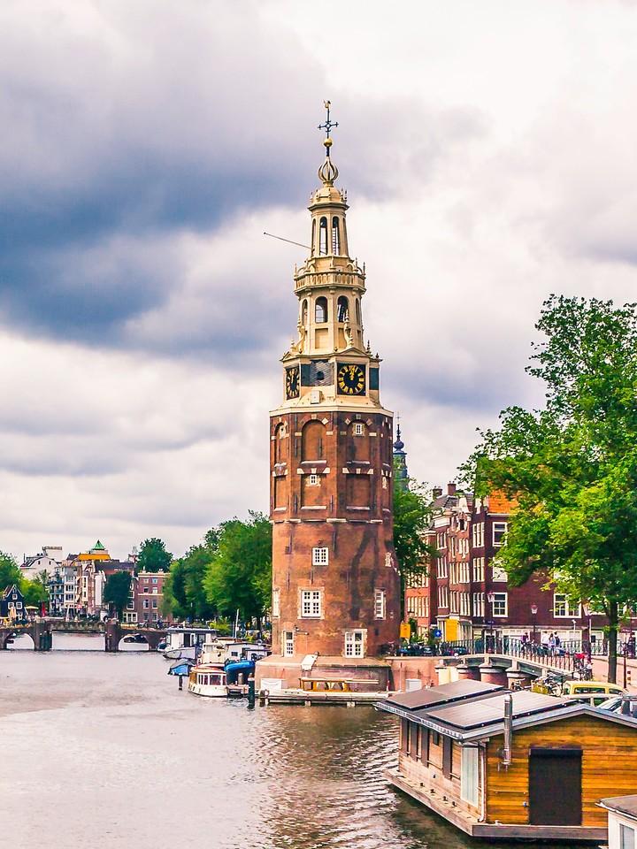 荷兰阿姆斯特丹,街头建筑_图1-1