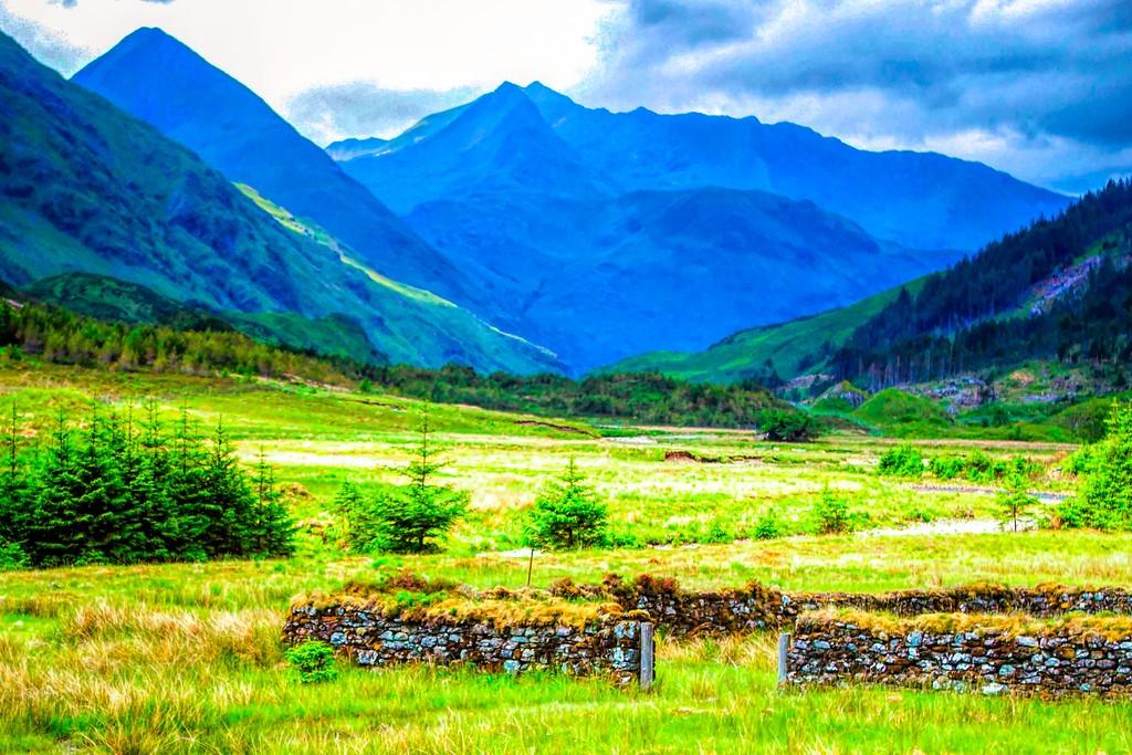 苏格兰美景,一眼望去_图1-2