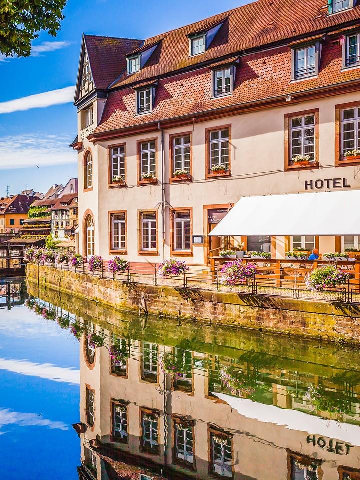 法国斯特拉斯堡(Strasbourg),河边眺望_图1-4