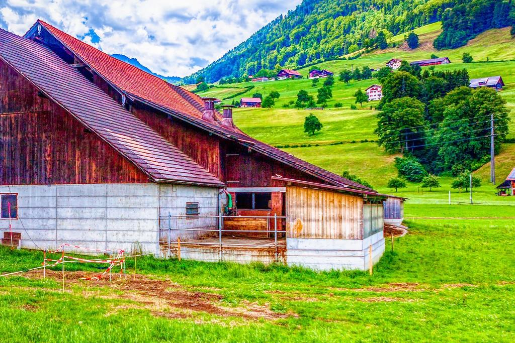 瑞士卢塞恩(Lucerne),登高望远_图1-13