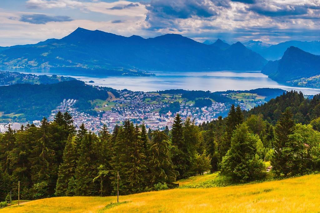 瑞士卢塞恩(Lucerne),登高望远_图1-9