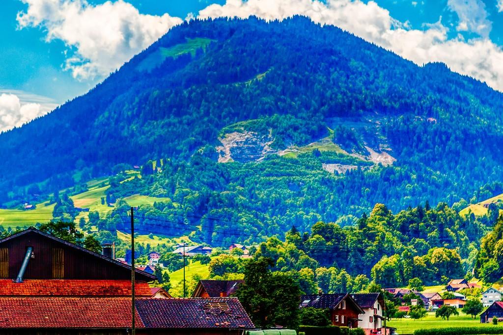 瑞士卢塞恩(Lucerne),登高望远_图1-4