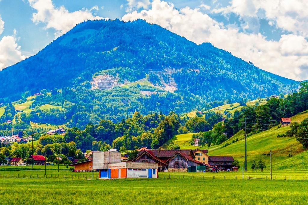 瑞士卢塞恩(Lucerne),登高望远_图1-17