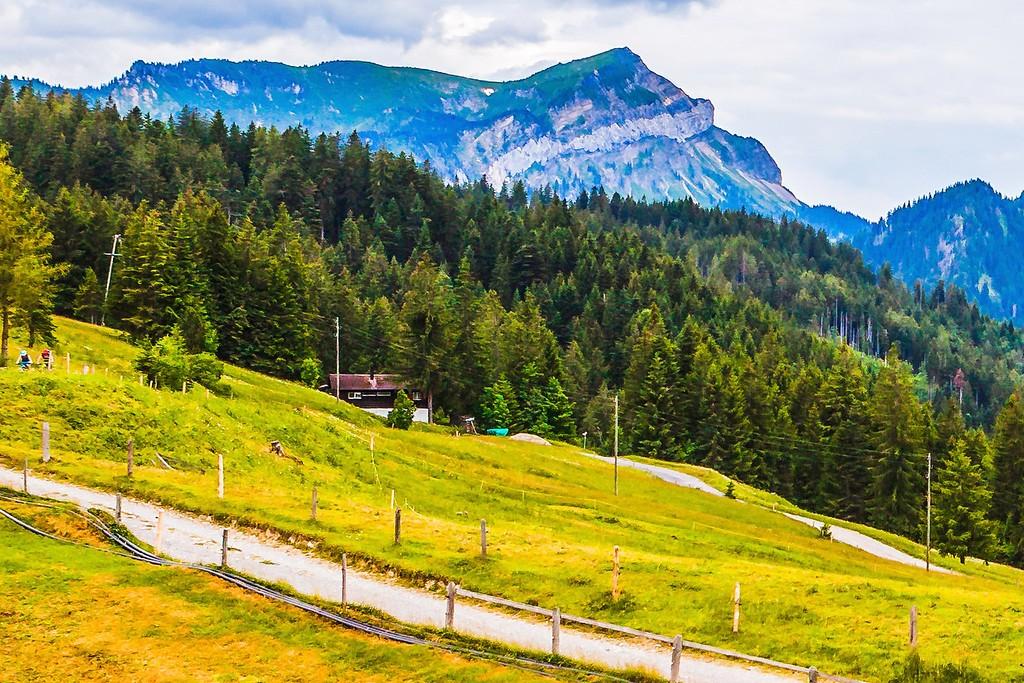 瑞士卢塞恩(Lucerne),登高望远_图1-19