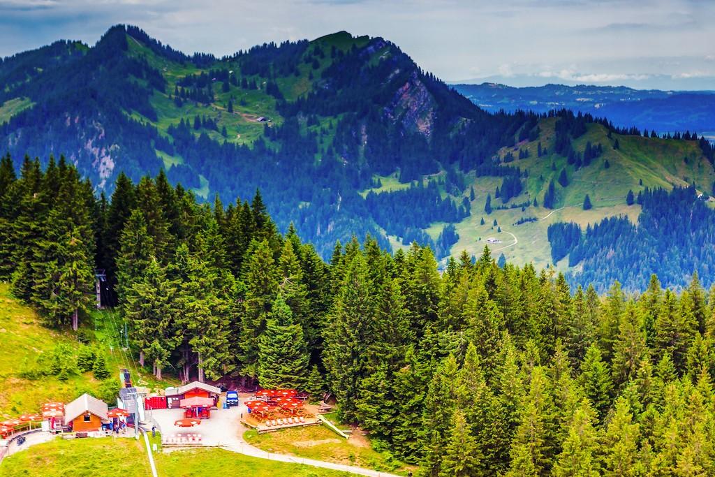 瑞士卢塞恩(Lucerne),登高望远_图1-27