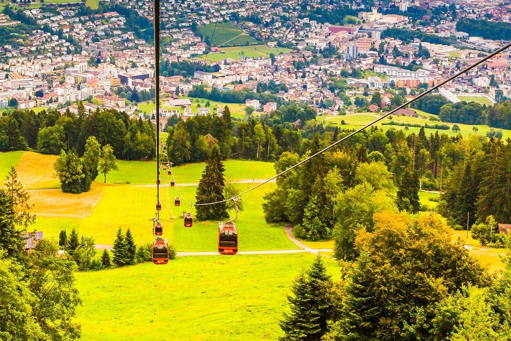 瑞士卢塞恩(Lucerne),登高望远_图1-34