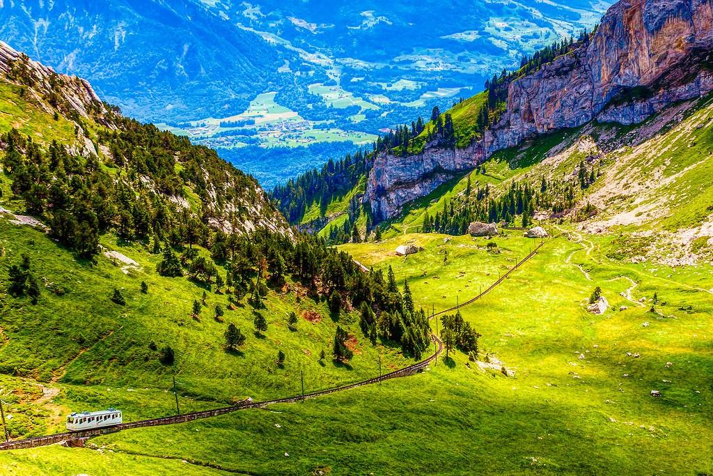 瑞士卢塞恩(Lucerne),登高望远_图1-36