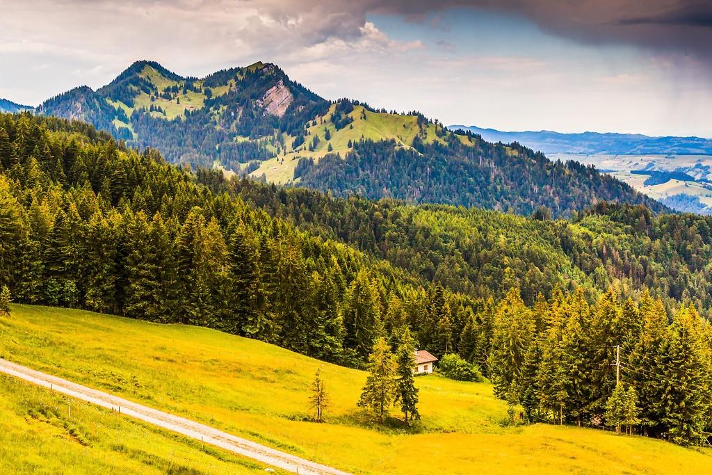 瑞士卢塞恩(Lucerne),登高望远_图1-37