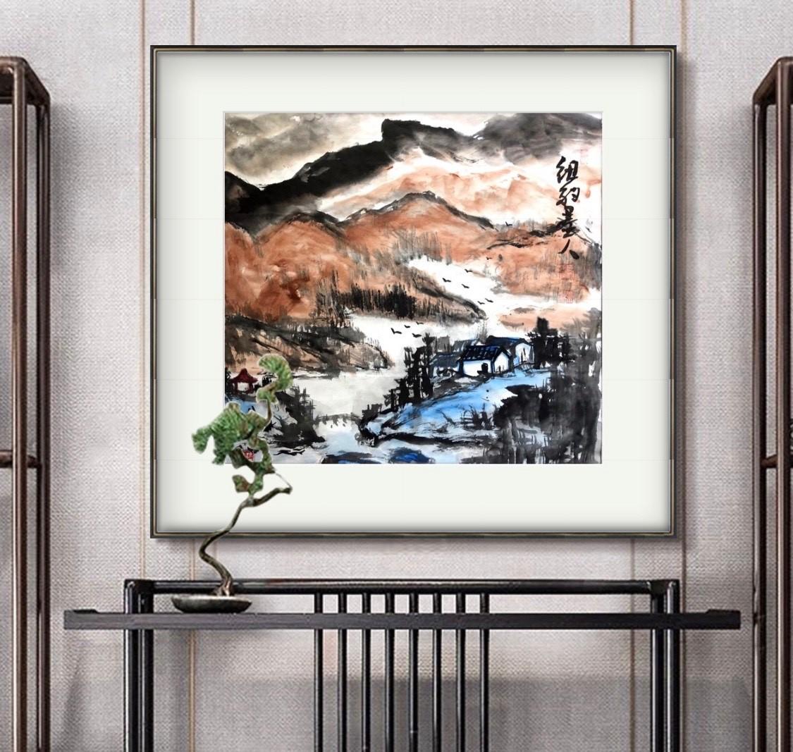 旅美画家李兆银纽约网络画展(十二)_图1-3