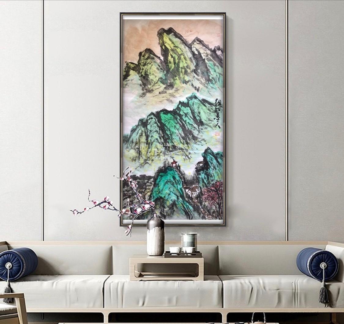 旅美画家李兆银纽约网络画展(十二)_图1-5