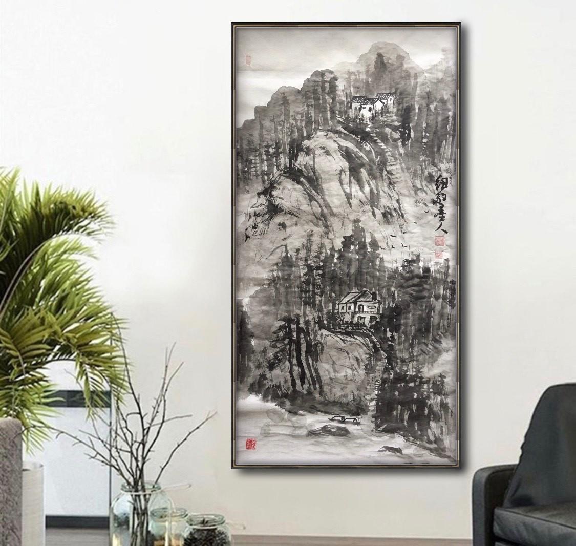 旅美画家李兆银纽约网络画展(十二)_图1-6