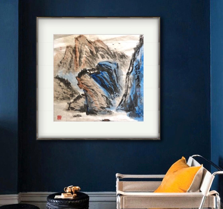 旅美画家李兆银纽约网络画展(十二)_图1-7