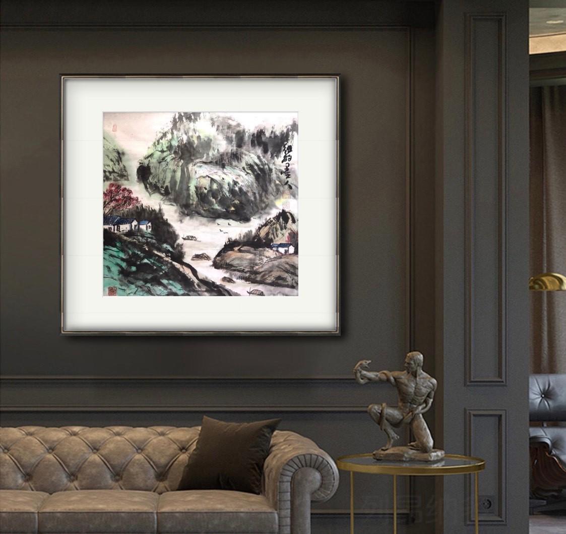 旅美画家李兆银纽约网络画展(十二)_图1-9