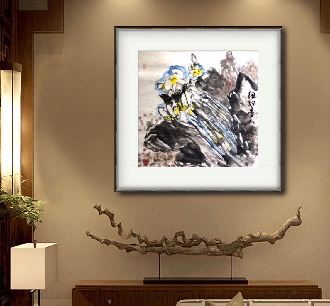 旅美画家李兆银纽约网络画展(十二)_图1-11