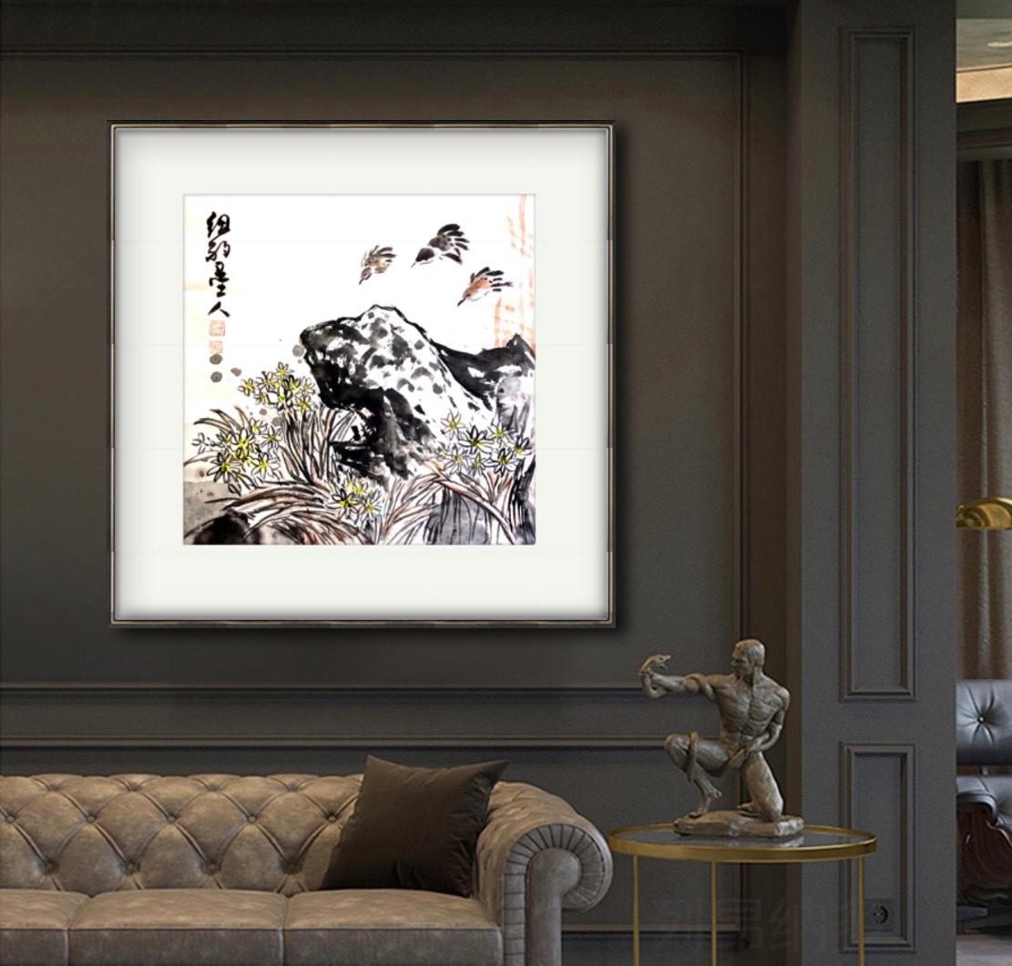 旅美画家李兆银纽约网络画展(十二)_图1-12