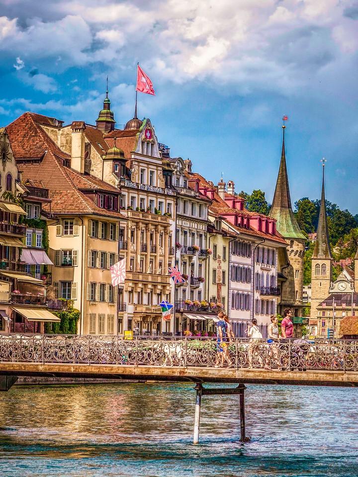 瑞士卢塞恩(Lucerne),墙上杰作_图1-38
