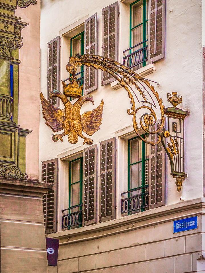 瑞士卢塞恩(Lucerne),墙上杰作_图1-37