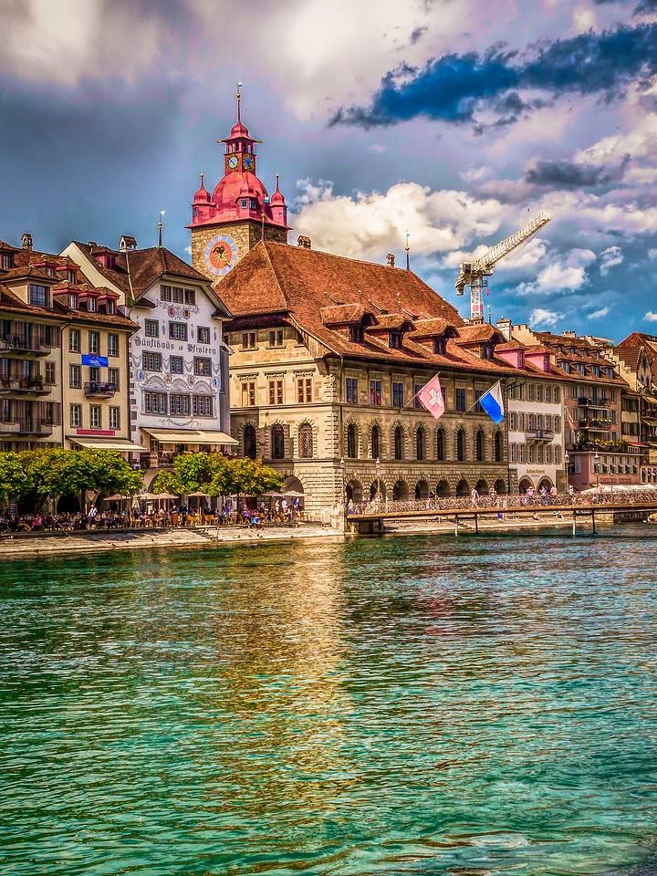 瑞士卢塞恩(Lucerne),墙上杰作_图1-27