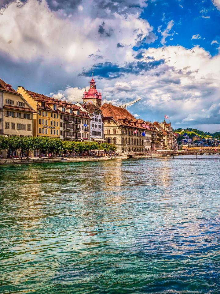 瑞士卢塞恩(Lucerne),墙上杰作_图1-25