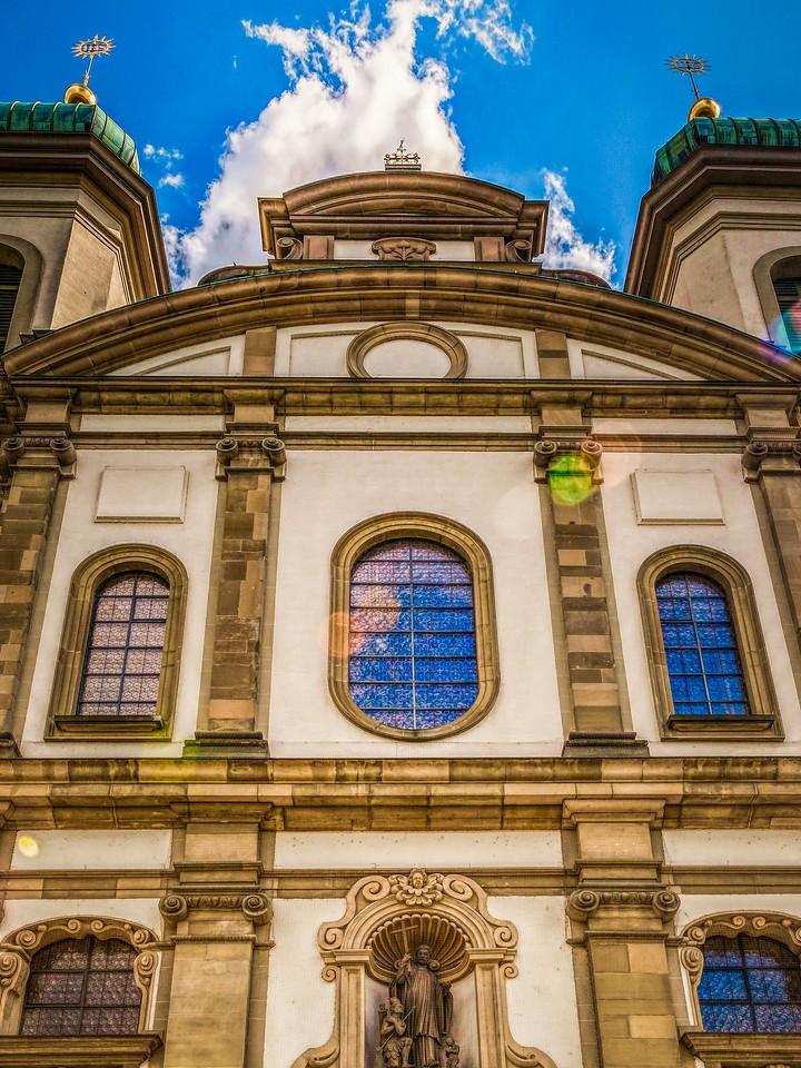 瑞士卢塞恩(Lucerne),墙上杰作_图1-26