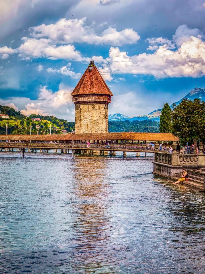 瑞士卢塞恩(Lucerne),墙上杰作_图1-21